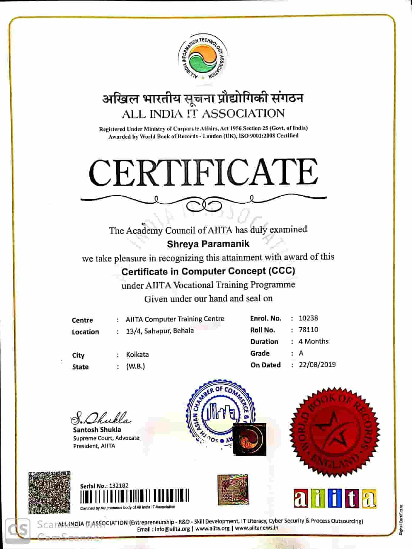 Certificate in Computer Concept [CCC]